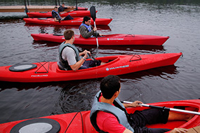 intermediate paddling courses