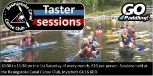 BCCC Canoeing Taster Sessions! @ Canal Centre