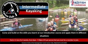 BCCC Intermediate Kayaking Course @ Canal Centre