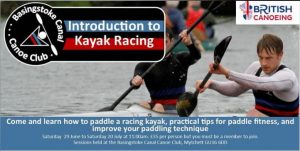 BCCC Introduction to Kayak Racing @ Canal Centre